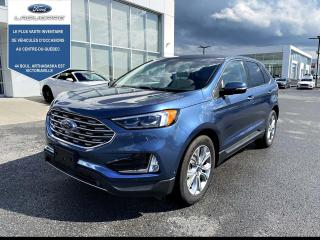 Used 2019 Ford Edge Titanium AWD CUIR TOIT NAV TAUX A 1.99% for sale in Victoriaville, QC
