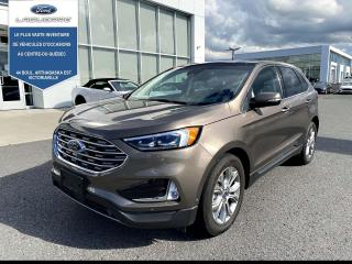 Used 2019 Ford Edge TITANIUM AWD CUIR TOIT NAV 301A for sale in Victoriaville, QC
