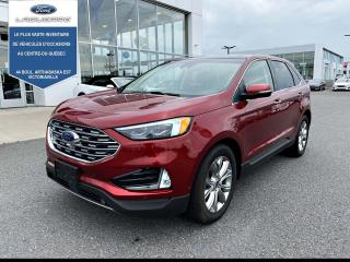 Used 2019 Ford Edge TITANIUM AWD CUIR for sale in Victoriaville, QC