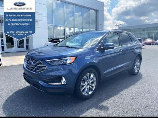 Used 2019 Ford Edge Titanium AWD for sale in Victoriaville, QC