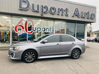 Used 2017 Mitsubishi Lancer SE LTD TA berline 4 portes CVT for sale in Alma, QC