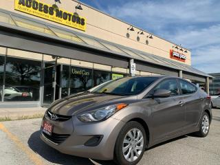 Used 2012 Hyundai Elantra 4DR SDN AUTO GL for sale in North York, ON