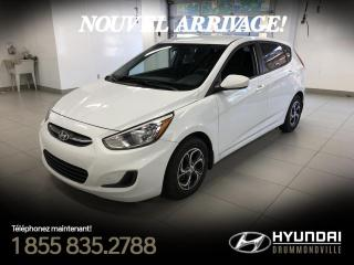 Used 2016 Hyundai Accent GL + GARANTIE + A/C + CRUISE + BLUETOOTH for sale in Drummondville, QC