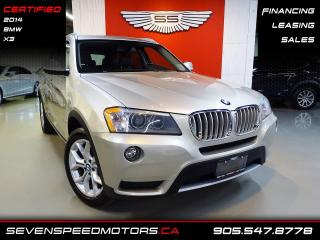 Used 2014 BMW X3 X3 ACCIDENT FREE | NAVI | CERTIFIED | FINANCE @ 4.65% for sale in Oakville, ON