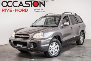 Used 2005 Hyundai Santa Fe V6 AUBAINE!!! for sale in Boisbriand, QC