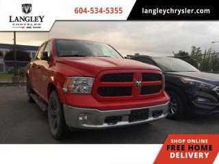 Used 2017 RAM 1500 SLT CREWCAB 4X4  20'' Rims / Upgraded Tires / Backup Camera for sale in Surrey, BC