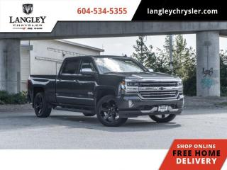 Used 2018 Chevrolet Silverado 1500 High Country  Loaded / Lined Box / Accident Free for sale in Surrey, BC