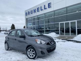 Used 2017 Nissan Micra S 8 pneus for sale in St-Eustache, QC