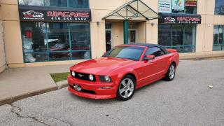 Used 2006 Ford Mustang GT**CONVERTIBLE**MANUAL** for sale in North York, ON