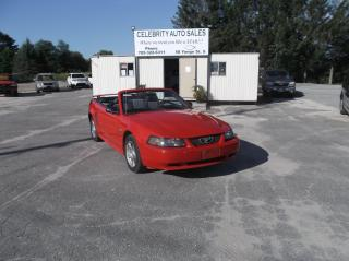Used 2004 Ford Mustang CONVERTIBLE 40 ANNIVERSAY for sale in Elmvale, ON