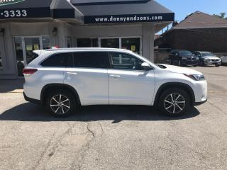 Used 2017 Toyota Highlander XLE for sale in Mississauga, ON