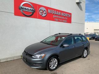 Used 2016 Volkswagen Golf Sportwagon Trendline 4dr FWD Wagon for sale in Edmonton, AB