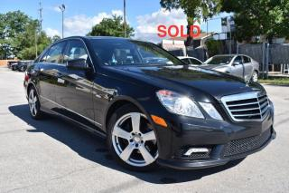 Used 2011 Mercedes-Benz E-Class SOLD for sale in Oakville, ON