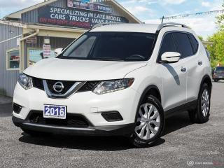 Used 2016 Nissan Rogue S,ECO/SPORT,R/V CAM,BLUETTOTH for sale in Orillia, ON