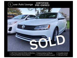 Used 2015 Volkswagen Jetta HIGHLINE, LOADED, SUPER CLEAN, SUPER LOW KMS!! for sale in Orleans, ON