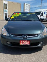 Used 2005 Honda Accord EX-L for sale in Kitchener, ON