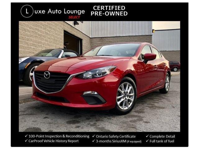 2014 Mazda MAZDA3 GS-SKY, HEATED SEATS, BACK-UP CAMERA, BLUETOOTH!!