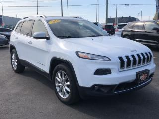 Used 2014 Jeep Cherokee LIMITED*NAV*BACKUP CAM*PANO ROOF for sale in London, ON