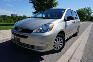 Used 2005 Toyota Sienna CE / 7 PASS / TIMING BELT DONE / DRIVES EXCELLENT for sale in Etobicoke, ON