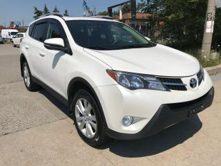 Used 2013 Toyota RAV4  AWD LIMITED,AWD,LEATHER,S/ROOF,NAV,SAFETY+3Y WARRANTY for sale in Toronto, ON