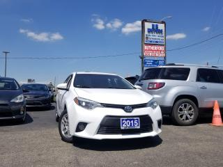 Used 2015 Toyota Corolla CE ALLOYS AIR NO ACCIDENTS CLEAN CARFAX for sale in Brampton, ON