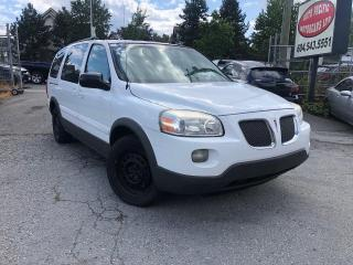 Used 2005 Pontiac Montana w/1SB for sale in Langley, BC