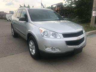 Used 2010 Chevrolet Traverse 8 SEATER,140KM,SAFETY+3YEARS WARRANTY INCLUDED for sale in Toronto, ON