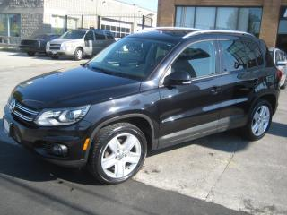 Used 2015 Volkswagen Tiguan 4MOTION  Highline Navigation Sunroof for sale in North York, ON