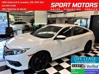 Used 2018 Honda Civic SE+Apple Play+Camera+Black Wheels+Accident Free for sale in London, ON