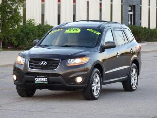 Used 2011 Hyundai Santa Fe LTD WITH NAVIGATION,REAR-CAM,LEATHER,AWD,TOP LINE for sale in Mississauga, ON