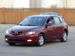 Used 2008 Mazda MAZDA3 FOG LIGHTS,ALLOY RIMS,PWR OPTIONS,NO-ACCIDENTS for sale in Mississauga, ON