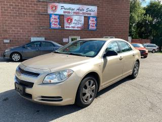Used 2008 Chevrolet Malibu LS/2.4L/LOW KMS/NO ACCIDENT/SAFETY+WARRANTY INCLUD for sale in Cambridge, ON