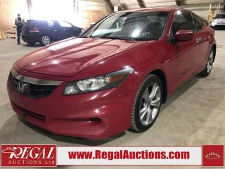 Used 2012 Honda ACCORD EX-L 2D COUPE V6 AT for sale in Calgary, AB