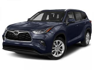 New 2020 Toyota Highlander Limited CALL NOW! for sale in Winnipeg, MB
