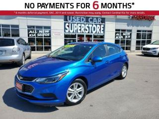 Used 2017 Chevrolet Cruze LT Turbo, Heated Seats, Reverse Camera, Bluetooth. for sale in Niagara Falls, ON