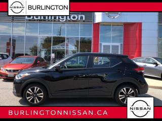 Used 2020 Nissan Kicks SV, ACCIDENT FREE, LOADED WITH SAFETY FEATURES ! for sale in Burlington, ON