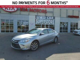 Used 2015 Toyota Camry XLE,NAV, Sunroof, Wireless Cellphone Charger. for sale in Niagara Falls, ON