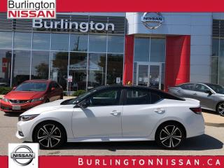 Used 2020 Nissan Sentra SR, PREMIUM with MOONROOF, ACCIDENT FREE ! for sale in Burlington, ON