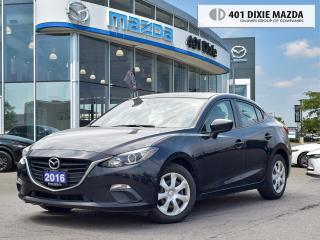 Used 2016 Mazda MAZDA3 GX |REMOTE STARTER|1.99% FINANCING AVAILABLE for sale in Mississauga, ON