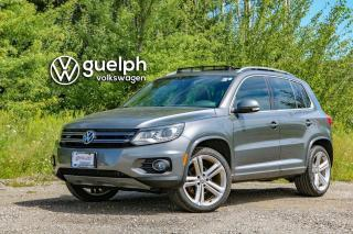 Used 2013 Volkswagen Tiguan Highline R-LINE Nav, Bluetooth, Heated Seats for sale in Guelph, ON