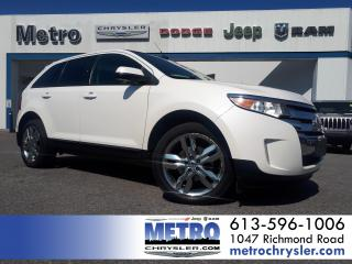 Used 2014 Ford Edge SEL Dual Sunroof Navigation AWD for sale in Ottawa, ON