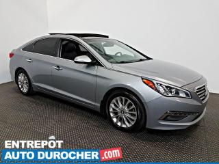 Used 2015 Hyundai Sonata 2.4L Limited NAVIGATION - Toit Ouvrant - A/C -Cuir for sale in Laval, QC
