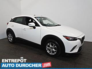 Used 2016 Mazda CX-3 GS Toit Ouvrant - A/C  - Caméra de Recul - Cuir for sale in Laval, QC