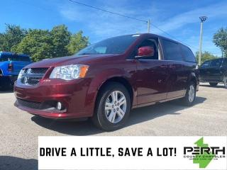 New 2020 Dodge Grand Caravan Crew Plus | DVD | Power Liftgate | Blindspot and C for sale in Mitchell, ON