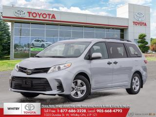New 2020 Toyota Sienna CE for sale in Whitby, ON
