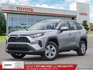 New 2020 Toyota RAV4 Hybrid LE for sale in Whitby, ON