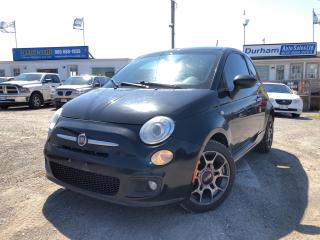 Used 2012 Fiat 500 Sport for sale in Whitby, ON
