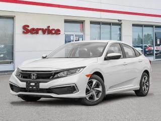 New 2020 Honda Civic Sedan LX CVT for sale in Brandon, MB