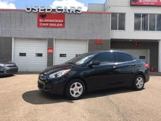 Used 2017 Hyundai Accent GL for sale in Edmonton, AB