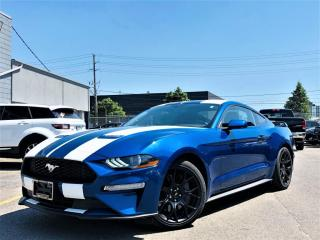 Used 2018 Ford Mustang ECOBOOST|REAR VIEW|CRUISE CONTROL|PUSH START|ALLOYS & MORE! for sale in Brampton, ON